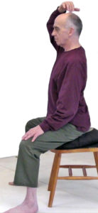 Peter Payne demonstrating basic Qigong movements